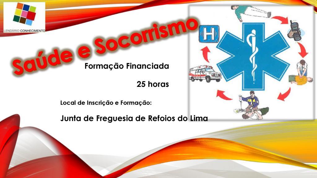 Formação Financiada - Saúde e Socorrismo